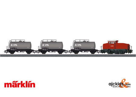 Marklin 26569 - Petroleum Oil Transport Train Set in H0 Scale