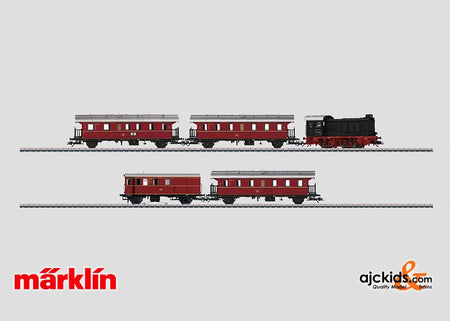 Marklin 26577 - Commuter Service Train Set class V 36.2 diesel in H0 Scale