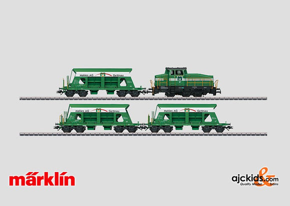 Marklin 26579 -  Train Set Makies, Gettnau, Switzerland in H0 Scale