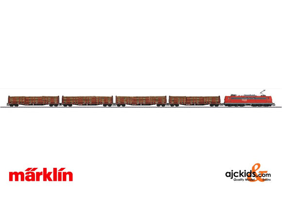 Marklin 26594 - Lumber Transport Train Set in H0 Scale
