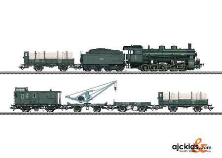 Marklin 26603 - Bavarian class G 5/5 Freight Train Set in H0 Scale