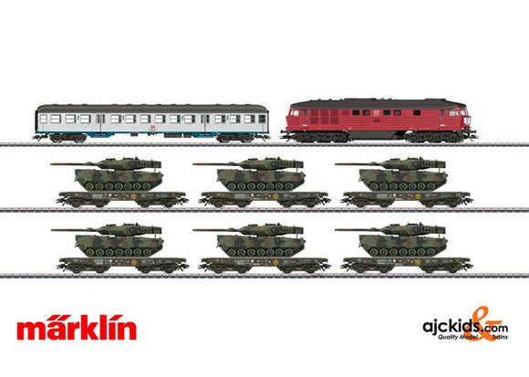 Marklin 26606 - Freight Train Military Freight for German Federal Army in H0 Scale