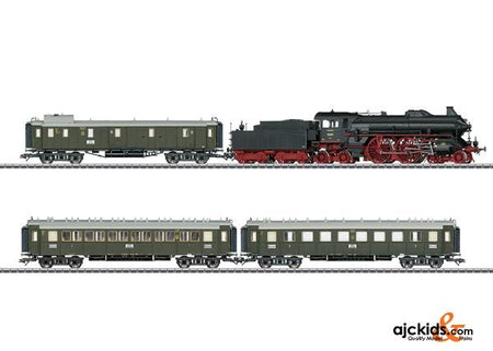 Marklin 26607 - Bavarian class S 2/6 Express Train Set in H0 Scale