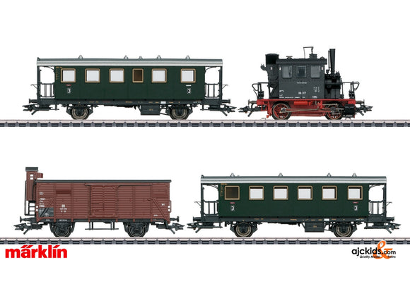 Marklin 26609 - Passenger Train with a Freight Car in H0 Scale