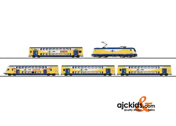 Marklin 26611 - Metronom Bi-Level Commuter Train in H0 Scale