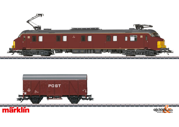 Marklin 26613 - Class mP 3000 Postal System Electric Powered Rail Car in H0 Scale