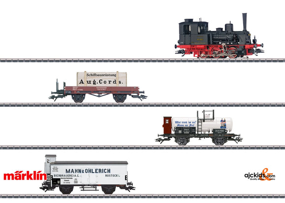 Marklin 26614 - 800 Years of Rostock Train Set in H0 Scale