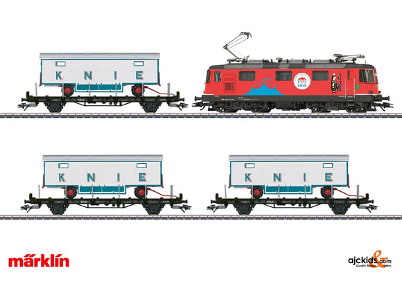 Marklin 26615 - 100 Years of the Swiss National Circus Knie Train Set in H0 Scale