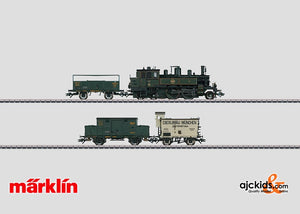 Marklin 26731 - Bavarian D XII series Freight Train in H0 Scale