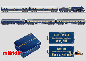 Marklin 26750 - 75 Years of the Rheingold Train Set in H0 Scale