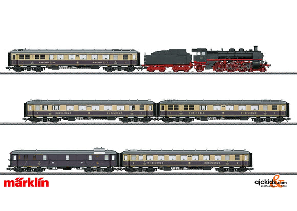 Marklin 26928 - 1928 Rheingold Train Set-highly limited in H0 Scale