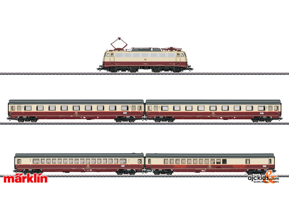 Marklin 26983 - Rheingold Offshoot Train- Train Set