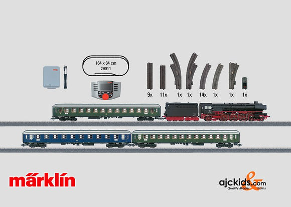 Marklin 29011 - Digital Starter Set Passenger Train in H0 Scale