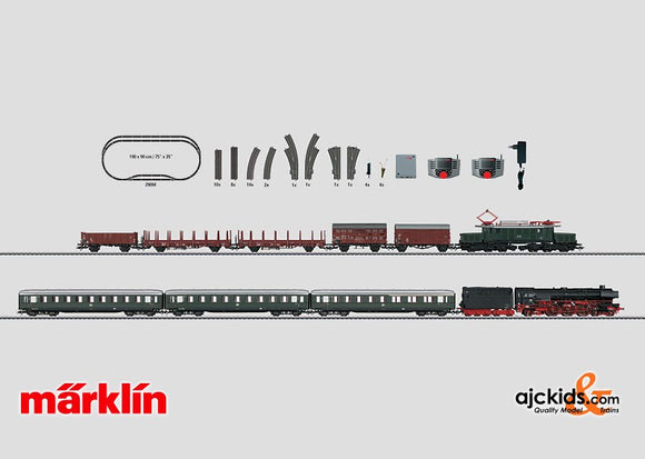 Marklin 29094 - Digital Starter Set Era 3 in H0 Scale
