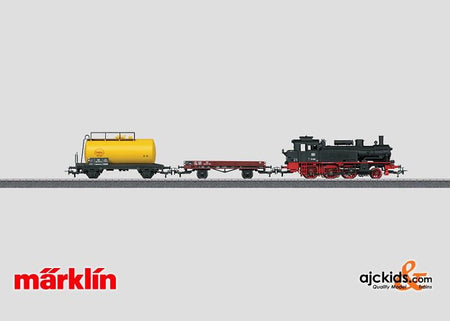 Marklin 29166 - Starter Set Freight Train BR 74 in H0 Scale