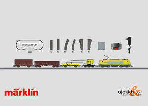 Marklin 29255 - French Construction Train Digital Starter Set in H0 Scale