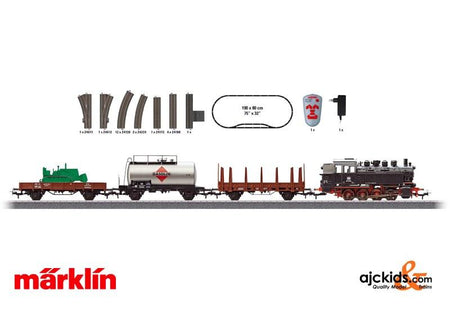 Marklin 29322 - German Federal Railroad Freight Train Starter Set. 120 Volts in H0 Scale