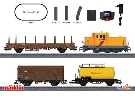 Marklin 29467 - Danish Freight Train Digital Starter Set.
