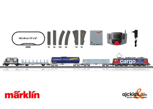 Marklin 29484 - Swiss Freight Train Digital Starter Set in H0 Scale