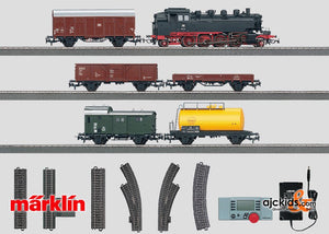 Marklin 29531 - Digital Starter Set Steam Locomotive. 120 volt in H0 Scale