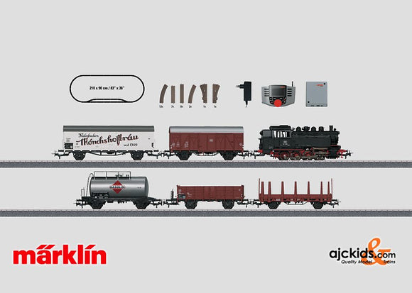 Marklin 29539 - Freight Train Digital Starter Set with digitized turnouts