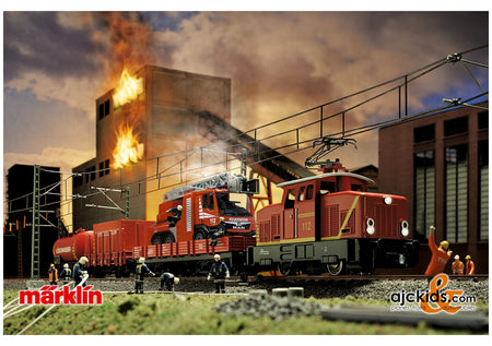 "Marklin 29722 - Märklin Start up - ""Fire Department"" Starter Set"