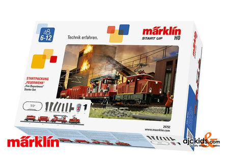 Marklin 29752 - Fire Department Starter Set. in H0 Scale