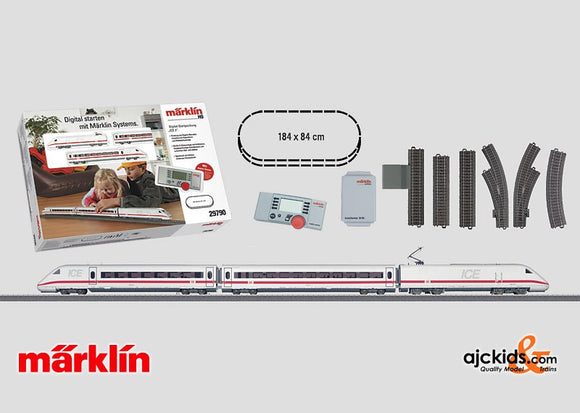 Marklin 29790 - Digital Starter set ICE 2 in H0 Scale