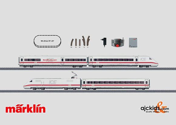 Marklin 29791 - Digital Starter Set ICE 2 with Mobile Station in H0 Scale