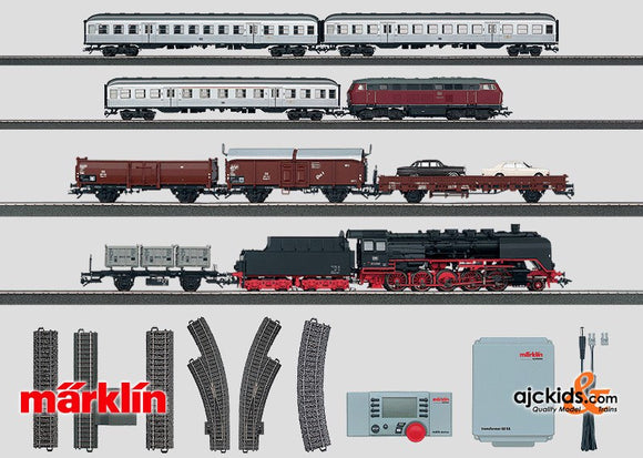 Marklin 29820 - Digital Mega Starter Set. 230 Volt in H0 Scale
