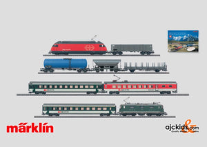 Marklin 29858 - Swiss Premium Digital Starter Set in H0 Scale