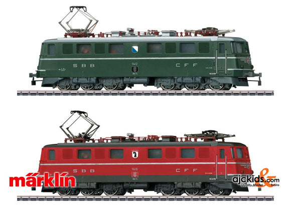 Marklin 30501 - Double Electric Locomotive Set - 25 Years MHI in H0 Scale