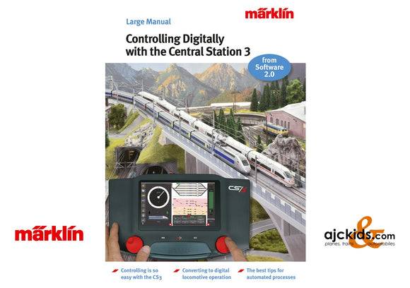 Marklin 3093 - Controlling Digitally with the Central Station 3 Model Railroad Manual