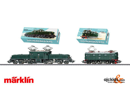 Marklin 31100 - Electric Locomotive Double Set in H0 Scale