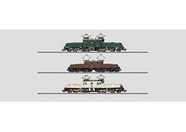Marklin 31860 - 150 Years Marklin SBB Crocodile Set in H0 Scale