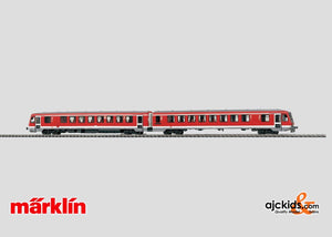 Marklin 33762 - Diesel Powered Railcar Train in H0 Scale