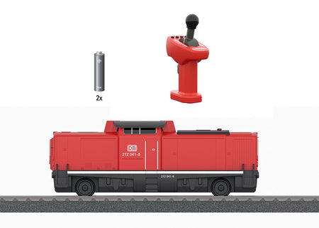Marklin 36101 - Marklin my world – Class 212 Diesel Locomotive with a Rechargeable Battery