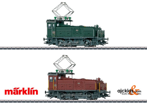 Marklin 36332 - Set of 2 locomotives Ee3/3 in H0 Scale