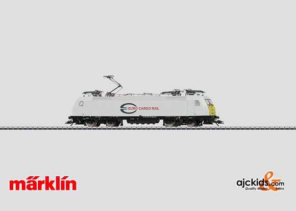 Marklin 36616 - Electric locomotive E 186, Euro Cargo Rail in H0 Scale