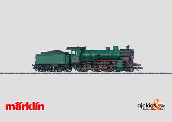 Marklin 37033 - Steam Locomotive with a Tender Class 64 in H0 Scale