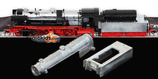 Marklin 37049 - Display Steam Locomotive BR 50.40 with castings in H0 Scale