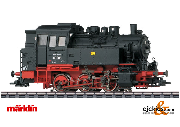 Marklin 37063 - Class 80 Steam Locomotive (Telex Couplers)