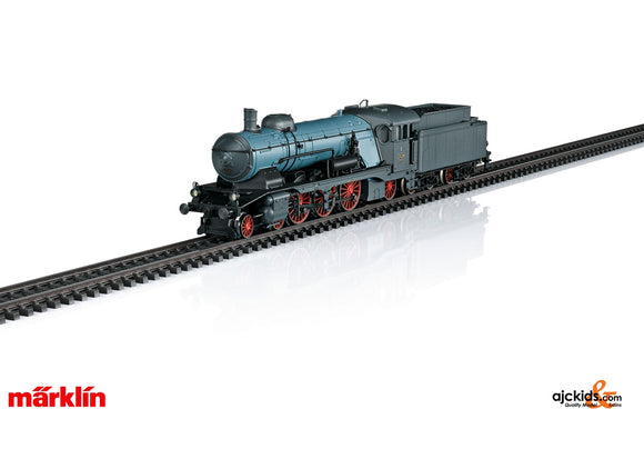 Marklin 37118 - Class C Express Locomotive with a Tender in H0 Scale