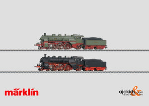 Marklin 37187 - Set with 2 of the S 3/6 Steam Locomotives with Tenders in H0 Scale