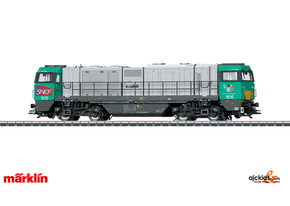 Marklin 37209 - Class G 2000 BB Vossloh Diesel Locomotive in H0 Scale