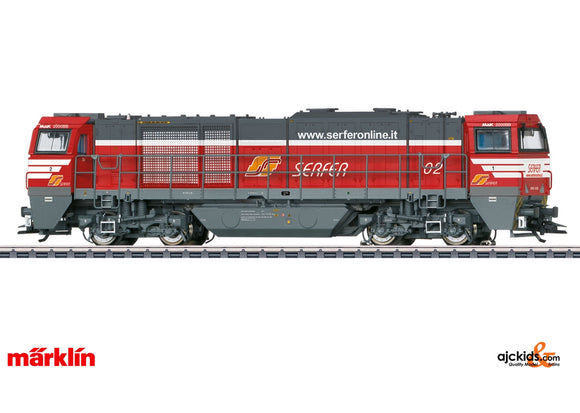 Marklin 37215 - Class G 2000 BB Vossloh Diesel Locomotive in H0 Scale