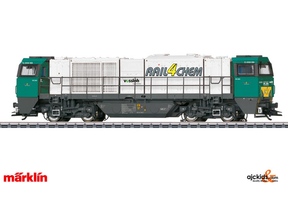 Marklin 37216 - Class G 2000 BB Vossloh Diesel Locomotive in H0 Scale