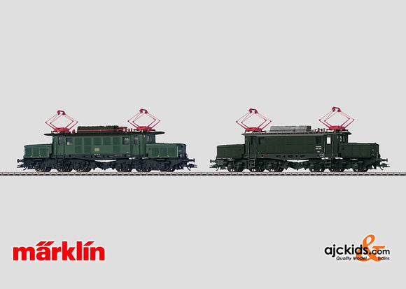 Marklin 37225 - Electric Locomotive Set Crocodile