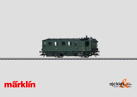 Marklin 37258 -  Steam Powered Rail Car Kittel in H0 Scale