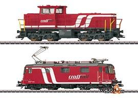 Marklin 37346 - Swiss Crossrail locomotive set